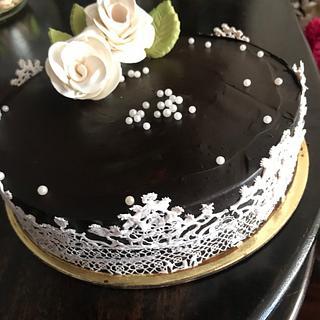 Chocolate truffle cake  - Cake by TheBakersGallery