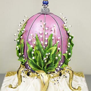Faberge Egg Cake by MLADMAN