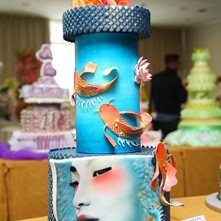 Geisha - Cake by Cristina Pontarolo