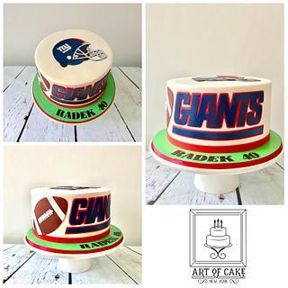 Giants Football Cake