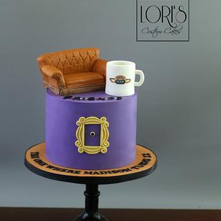 FRIENDS - Cake by Lori Mahoney (Lori's Custom Cakes)