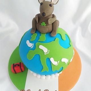 Bon Voyage - Cake by Ashling