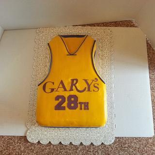 Lakers Fan - Cake by Denise