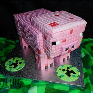 MineCraft Pig for Christian