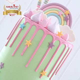 💕 Rainbow Dripcake 💕