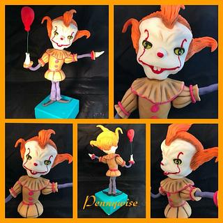 Pennywise  - Cake by Top Pie Design