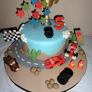 Disney 'Cars 2' Birthday Cake