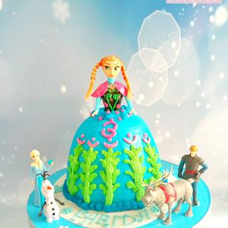 Anna cake ❄