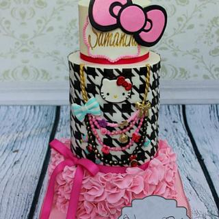 Hello Kitty goes Fashion  - Cake by Joly Diaz
