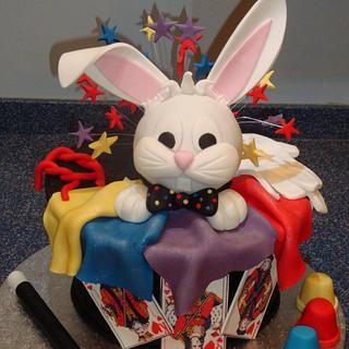 Magic Themed Cake - Cake by yummycakeco