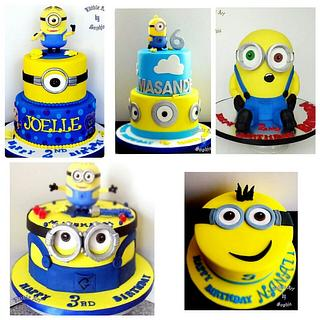 Minion fever - Cake by sophia haniff