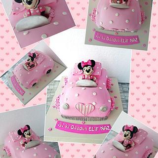 minnie mouse Cars cake  - Cake by tatlidusler
