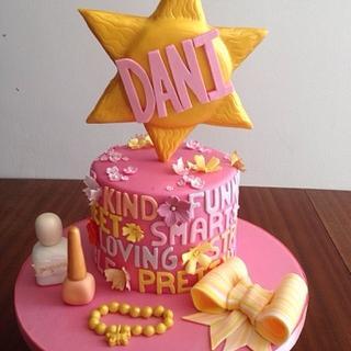 Sunshine girl birthday cake