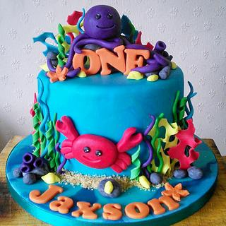 Under the Sea Cake  - Cake by DayDreams UK