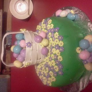 My first Easter cake