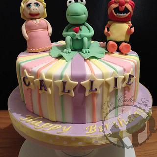 Muppets cake.