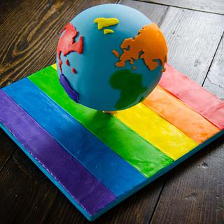 World Pride - Cake by Dkn1973