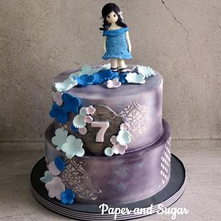 Gorjuss cake - Cake by Dina - Paper and Sugar