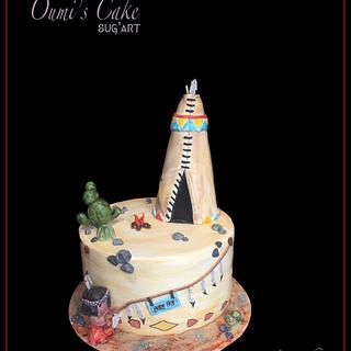 Baby shower Cake  - Cake by Cécile Fahs