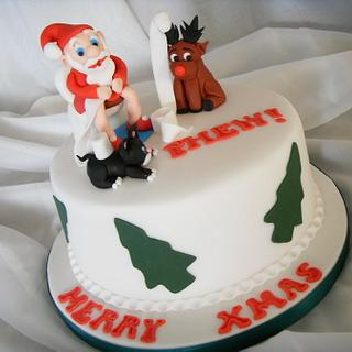 'Just In Time' Christmas Cake