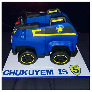 Chase Truck Cake - Cake by Ramids