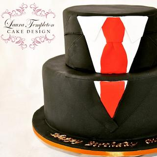 Suit & Tie Cake