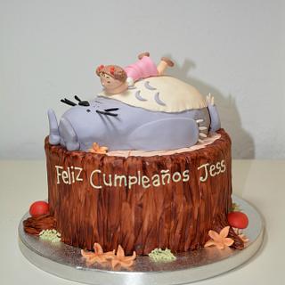 Totoro Cake - Cake by En Clave de Azucar