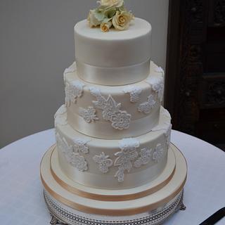 Wedding Cake - Cake by Rebecca Cooper