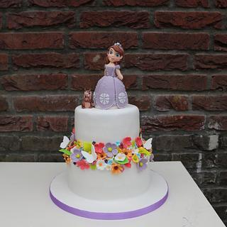 Sofia the first - Cake by Taartmama