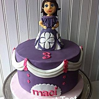 sofia the first cake