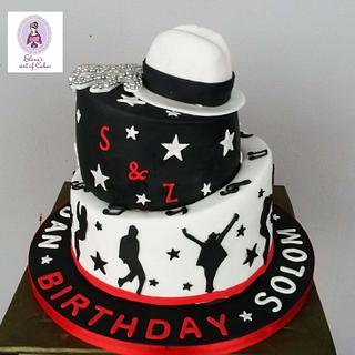 Michael Jackson cake  - Cake by elenasartofcakes