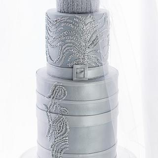 Dior Inspired Fashion Cake