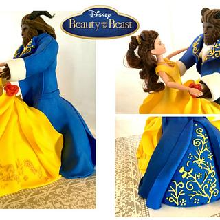 BEAUTY AND THE BEAST DANCING DOLL CAKES!