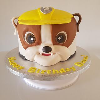 Paw patrol Rubble cake