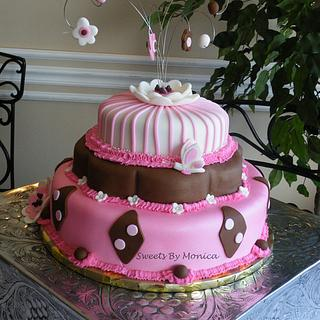 Pink & Brown Baby Shower