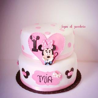 Minnie cake  - Cake by Daniela e Fabio
