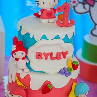 Ryley's Sanrio Friends