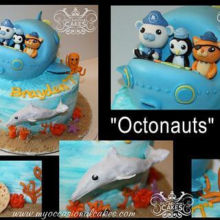 Octonauts(TM) inspired cake