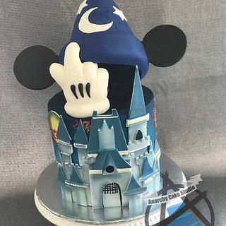 Fantasia cake - Cake by Sam Lucero