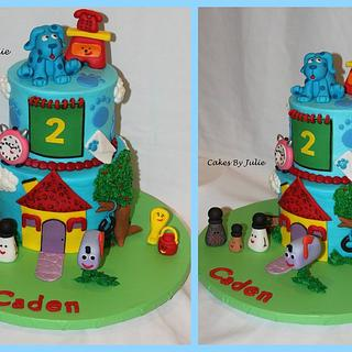 Blues Clues Cake! - Cake by Cakes By Julie