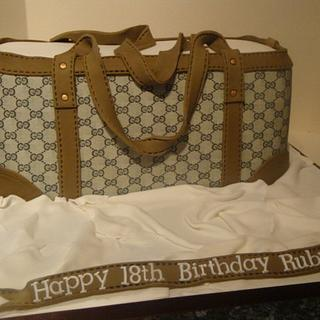 Gucci Handbag - Cake by Claire
