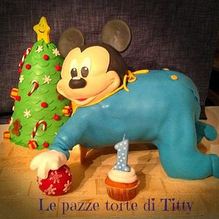 baby Mikey  - Cake by Titty