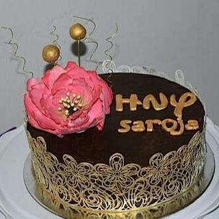 Ganache cakes