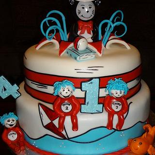 Cat in the hat - Cake by Nissa