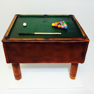 Pool Table - Cake by Olivia's Kitchen