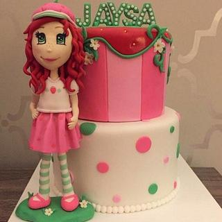 strawberry shortcake - Cake by Tabi Lavigne