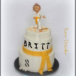 Karate cake - Cake by Karen Dodenbier