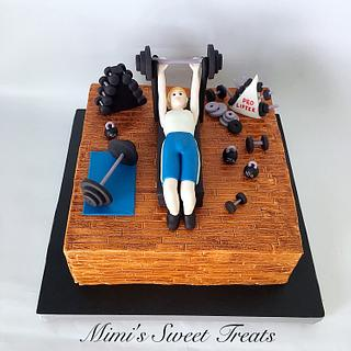 Workout Groom's Cake