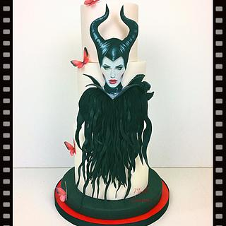 Maléfique cake by Madl créations