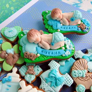 Cookies for baby BOY